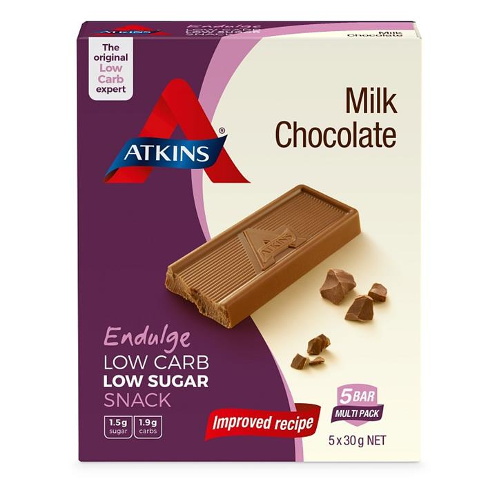 Atkins Endulge Milk Chocolate 30g X 5