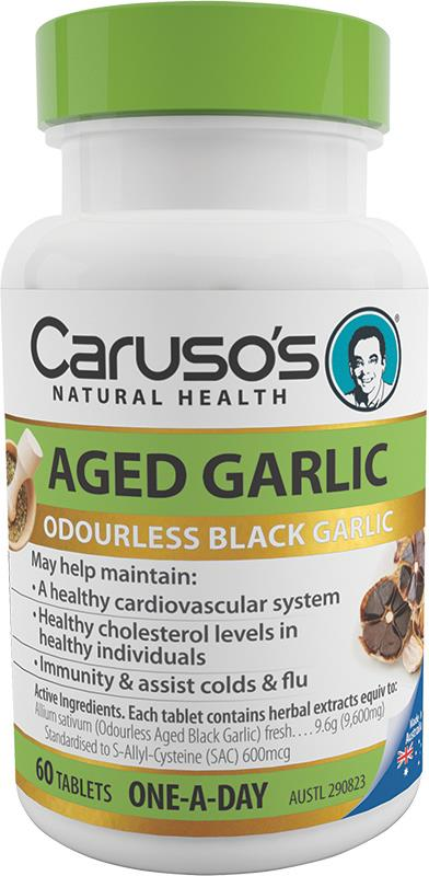 Caruso's Natural Health Aged Garlic One A Day Tab X 60