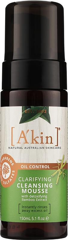 A'kin Oil Control Clarifying Cleansing Mousse 150ml