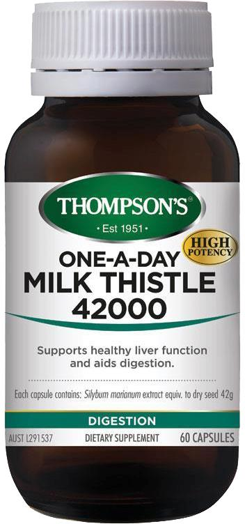 Thompson's One A Day Milk Thistle 42000mg Cap X 60