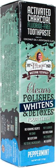 My Magic Mud Whitening Toothpaste Peppermint 113g
