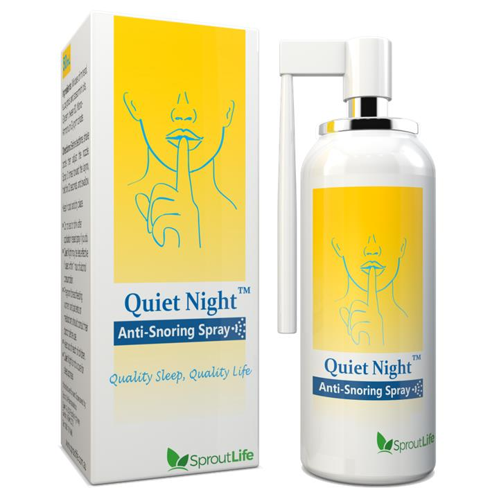 Quiet Night Anti Snoring Spray