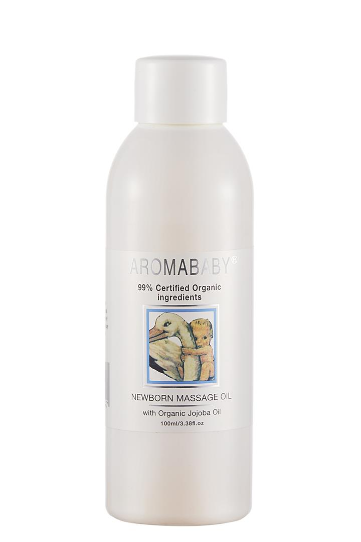 Aromababy Organic Newborn Massage Oil 100ml