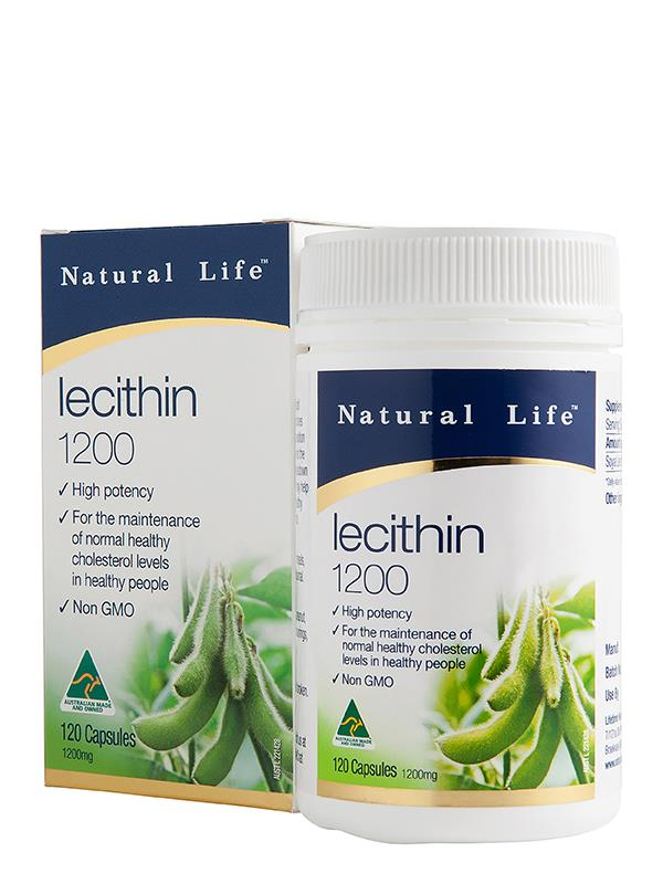 Natural Life Lecithin 1200mg Cap X 120