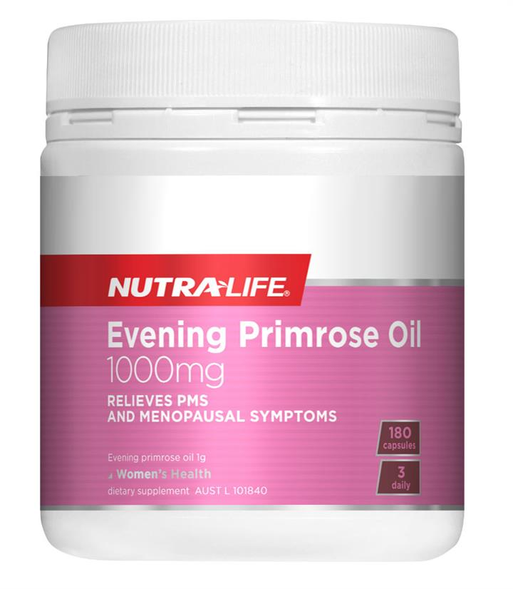 Nutralife Evening Primrose Oil Cap 1000mg X 180