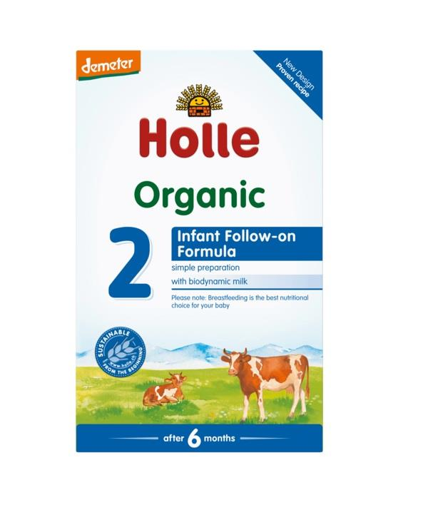 Holle Organic Infant Formula 2 (From 6 Months) 600g
