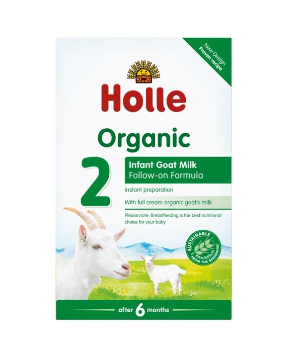 Holle Organic Infant Goat Milk Formula 2 (From 6 Months) 400g