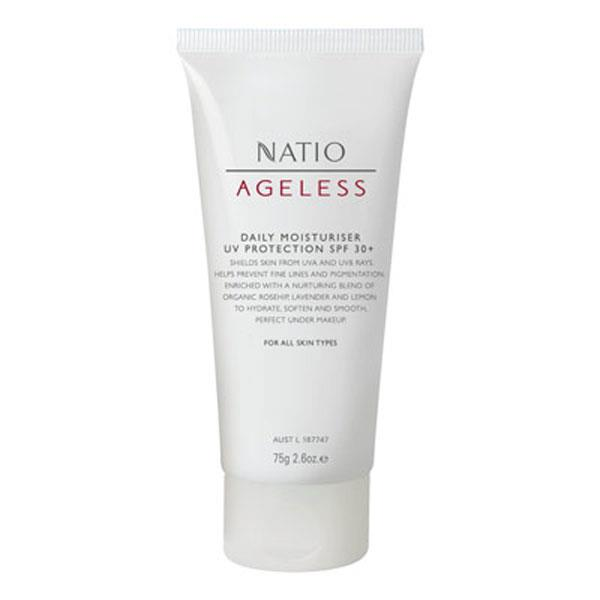 Natio Ageless Daily Moisturiser SPF 30+ 75g