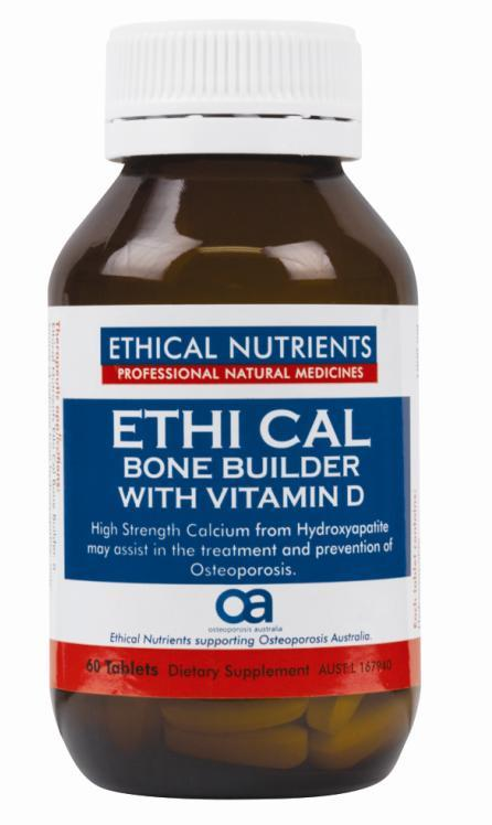 Ethical Nutrients Megazorb Bone Builder with Vitamin D Tab X 60