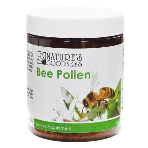 Nature's Goodness Bee Pollen Granules 125g