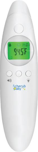Cherub Baby 4 in 1 Infrared Digital Ear & Forehead Thermometer