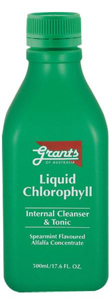 Grants of Australia Liquid Chlorophyll 500ml