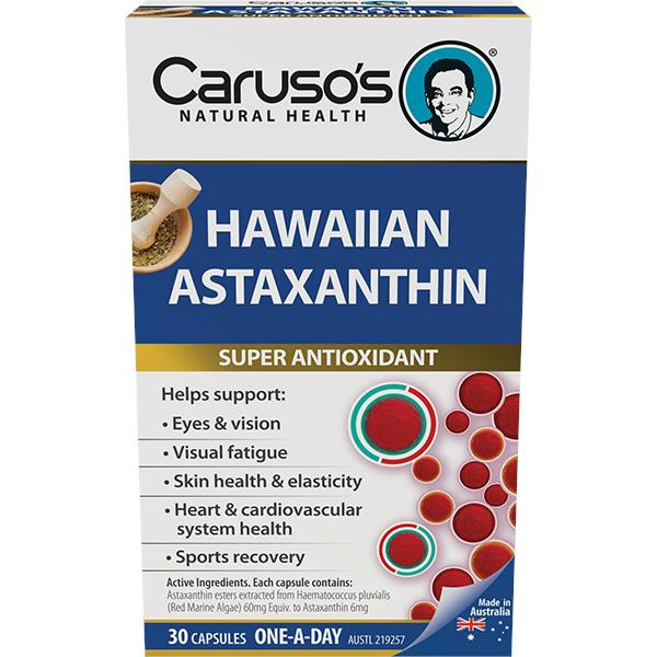 Caruso's Natural Health Hawaiian Astaxanthin Cap X 30
