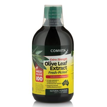 Comvita Olive Leaf Extract Extra Strength Cardiovascular Support 500ml