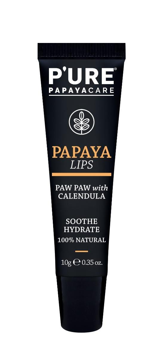 PURE Papaya Lips With Calendula 10g