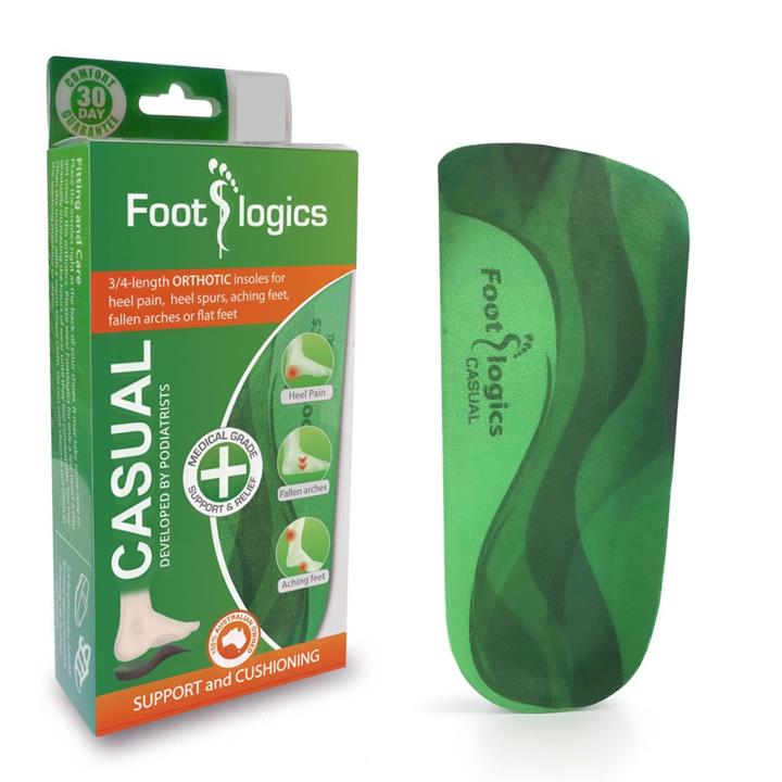 Foot Logics Casual Orthotic Insoles (Small)
