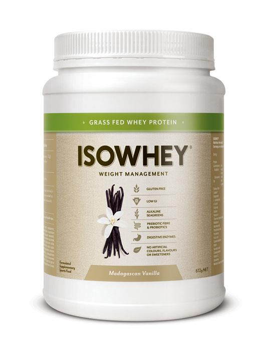IsoWhey Complete Weight Loss – Madagascan Vanilla 672g