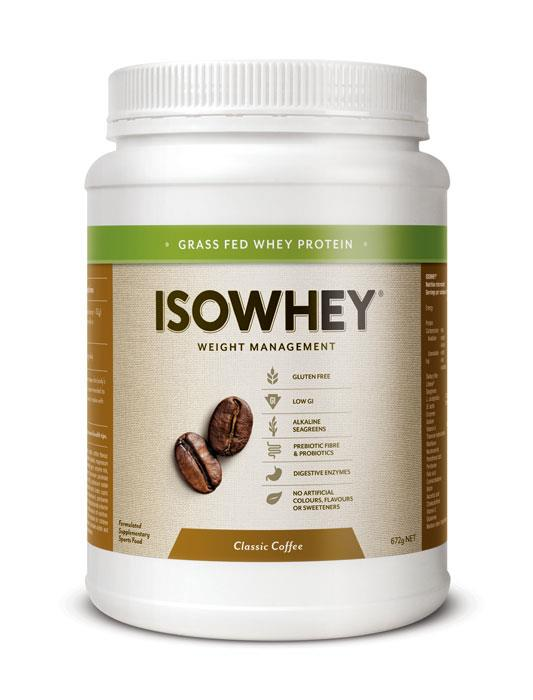 IsoWhey Complete Weight Loss – Classic Coffee 672g