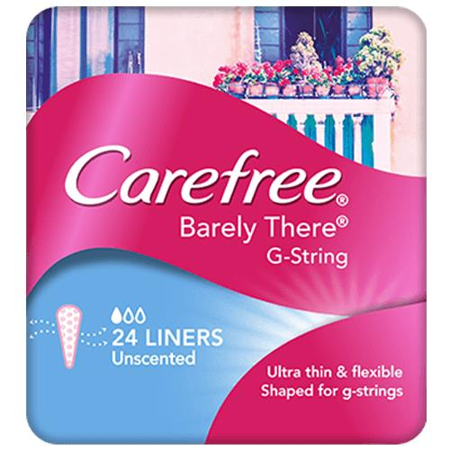 Carefree Liners Barely There G-String X 24