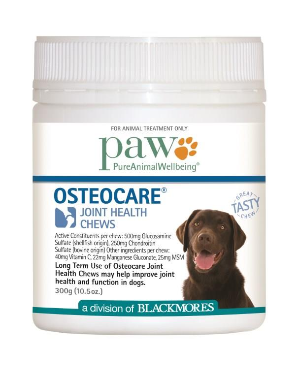 Blackmores PAW Osteocare Chews 300g