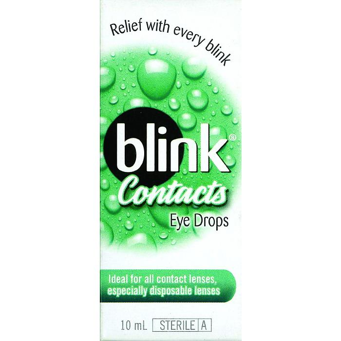 Blink Contacts Eye Drops 10ml