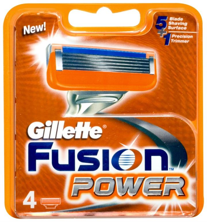 Gillette Fusion Power Cartidges X 4