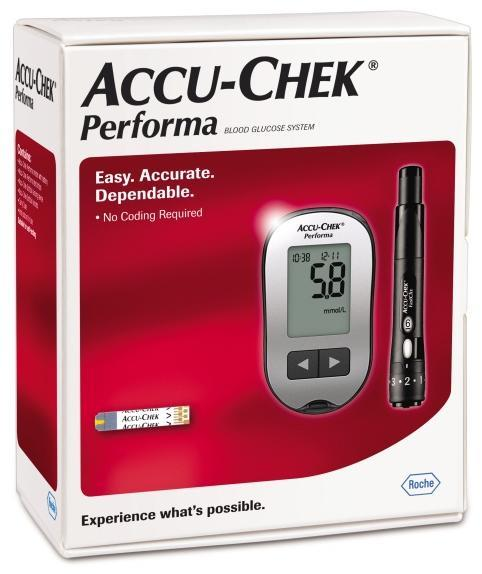 Accu-Chek Performa Blood Glucose Meter And Lancing Device Kit