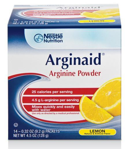 Arginaid Arginine-Intensive Drink Mix Lemon Flavour Sachets X 14