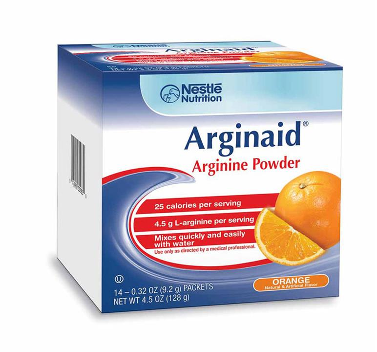 Arginaid Arginine Powder Orange Flavour Sachets X 14