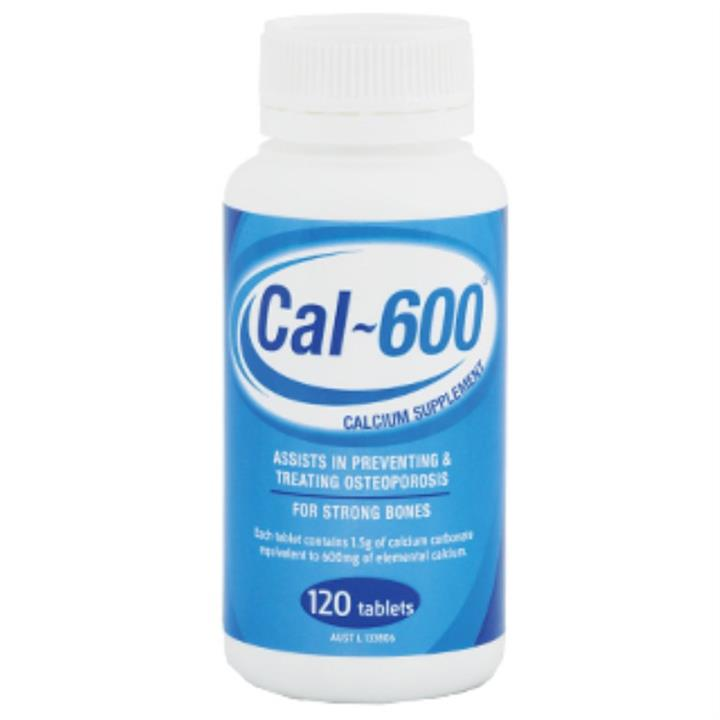 Cal-600 Tab X 120 (Generic for CALTRATE)