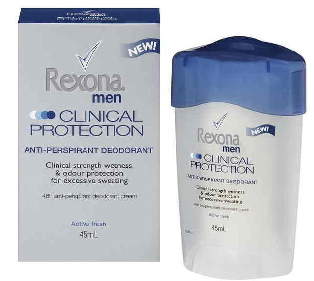 Rexona Anti-Perspirant Deodorant Clinical Protection For Men 45ml