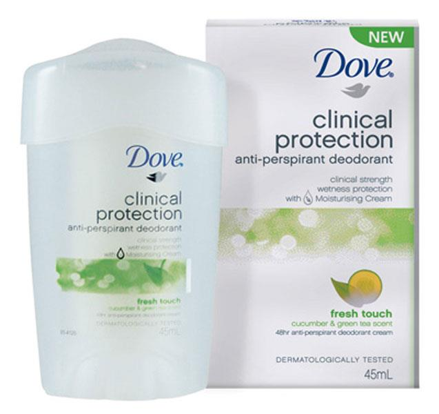 Dove Anti-Perspirant Deodorant Clinical Protection Fresh Touch 45ml