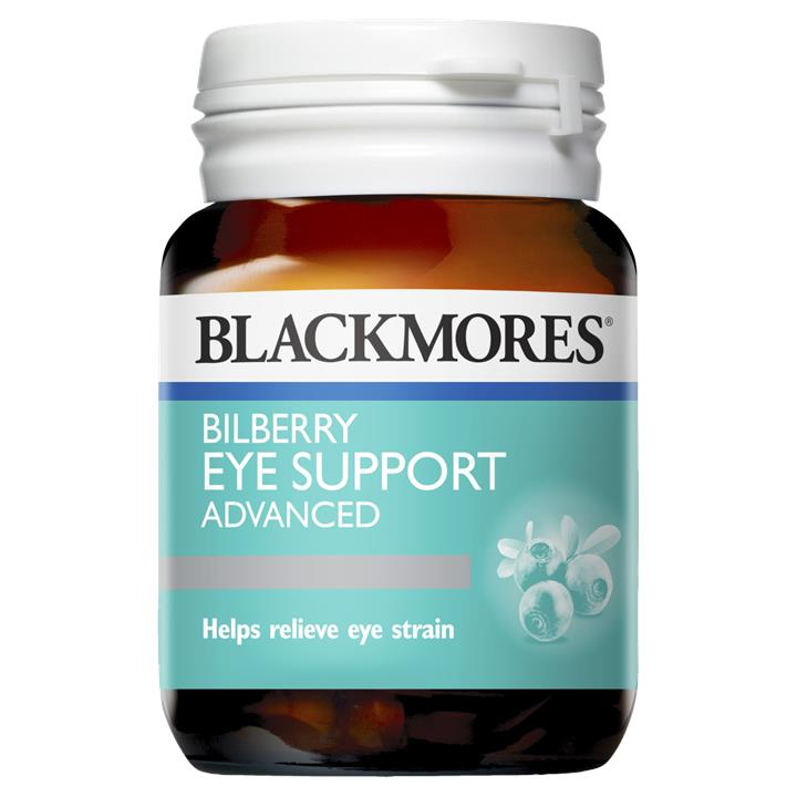 Blackmores Bilberry Eye Support Advanced Tab X 30