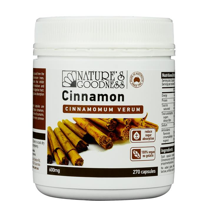 Nature's Goodness Cinnamon Cap X 270