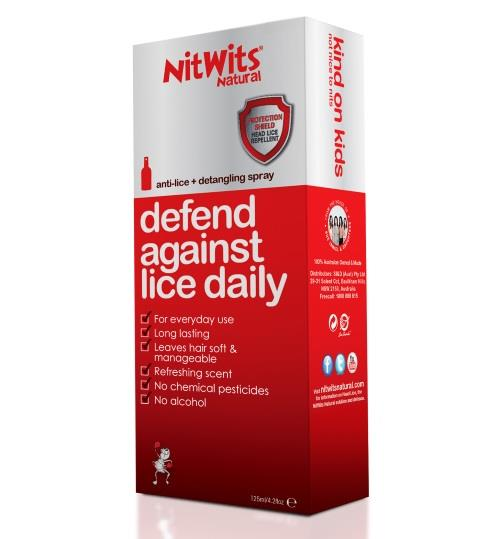 NitWits Anti Lice Spray 125ml