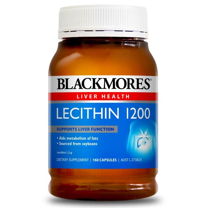 Blackmores Lecithin 1200 Cap X 160