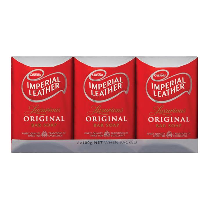Cussons Imperial Leather Soap Original 100g X 6