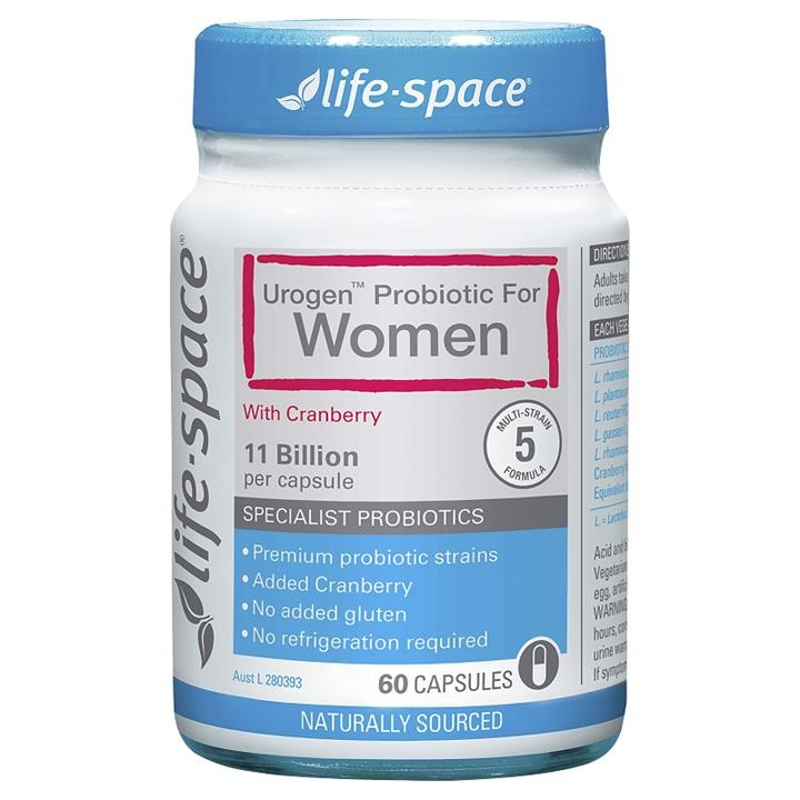 Life Space Urogen Probiotic For Women Cap X 60
