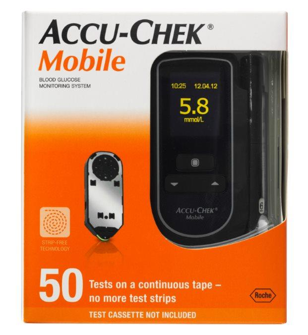 Accu-Chek Mobile Blood Glucose Meter Kit (Up to $60 Cash Back)*