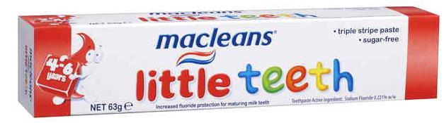 Macleans Toothpaste Little Teeth (4-6 Years) 63g