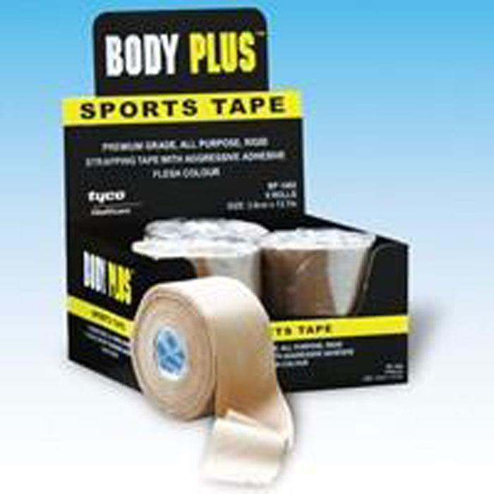 Body Plus Sports Strapping Tape 3.8cm X 10m