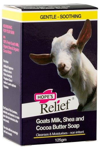 Hope's Relief Goats Milk Soap 125g