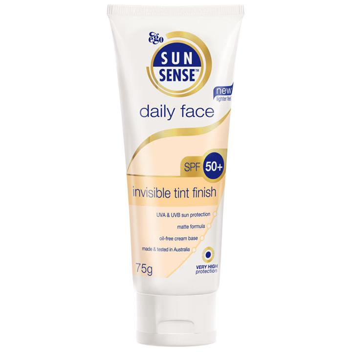 Ego Sunsense Daily Face Invisible Tint Finish SPF 50+ 75g