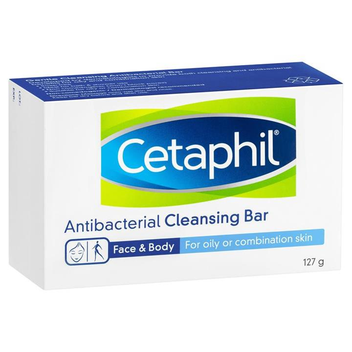 Cetaphil Gentle Cleansing Antibacterial Bar 127g