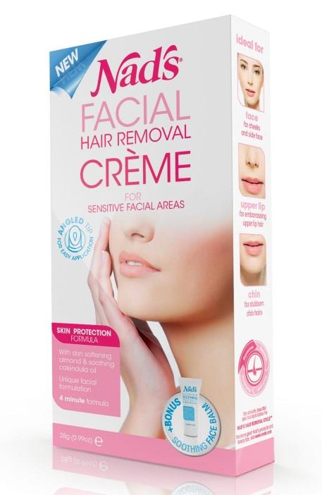 Nad's Facial Hair Removal Cream 28g