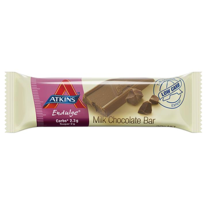 Atkins Endulge Milk Chocolate Bars 30g X 15