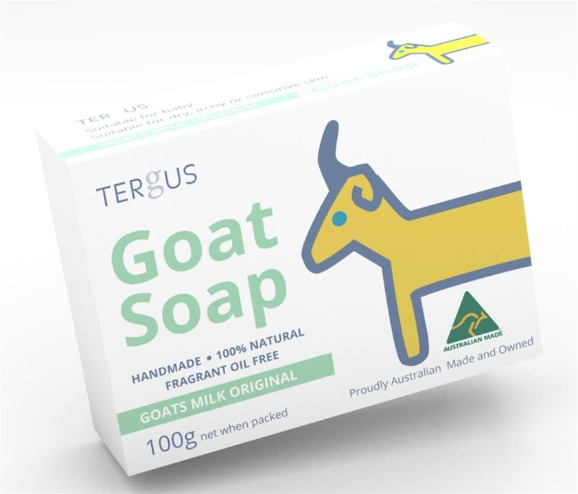 Tergus Goat Soap (Goats Milk Original) 100g