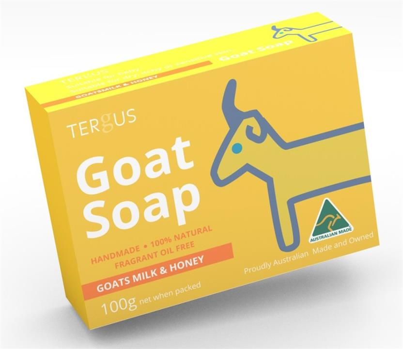 Tergus Goat Soap (Goats Milk & Honey) 100g