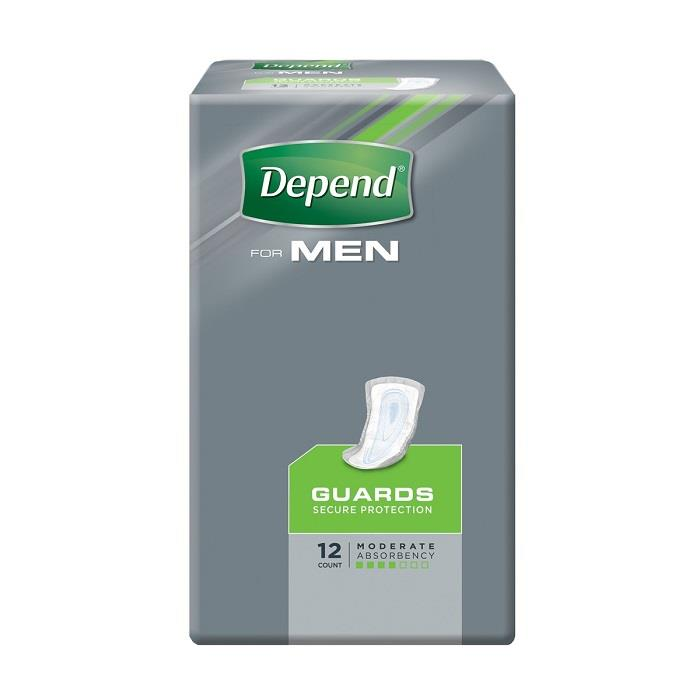 Depend Guards For Men X 12
