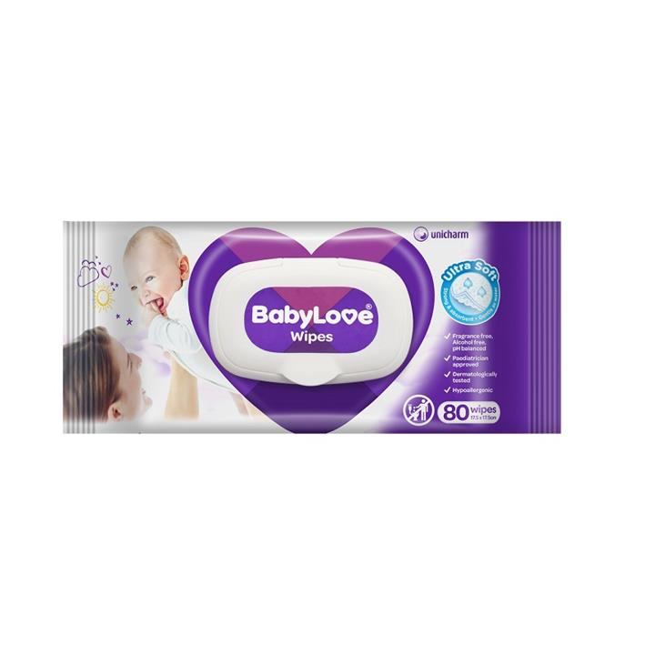 BabyLove Ultra Soft Baby Wipes X 80